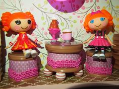 Lalaloopsy display box part 2 - More pictures on page.          Scrappalific