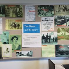 Local history display; Crawfordsville Public Library;  http://www.cdpl.lib.in.us/