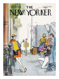 The New Yorker Cover - April 21, 1980 Poster Print by Charles Saxon at the Condé Nast Collection