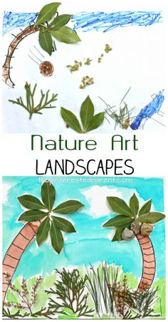 Super nature art projects for kids summer ideas