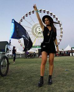 Looks do primeiro fim de semana do Coachella 2016 - street style - Camila Coelho