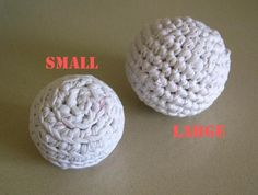 cat's crocheted balls - toma creations