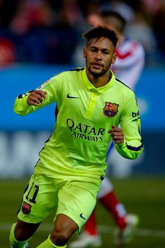 Neymar JR Photos - Club Atletico de Madrid v Barcelona - Zimbio