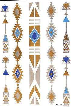 How To Clean Gold Jewelry Safely - Jewelry Daze Textile Pattern Design, Textile Patterns, Pattern Art, Native American Patterns, Native American Symbols, Arte Tribal, Tribal Art, Gold Jewellery Design, Gold Jewelry