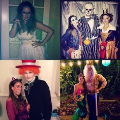 #TBT to the last four Halloweens in SF  in the words of the typical San Franciscan I may not have an earthquake preparedness kit but I will always have a costume box  #halloween#costume#diy#diycostume#homemade#homemadecostume#zombie#nightmarebeforechristmas#aliceinwonderland#littlemermaid#mermaid