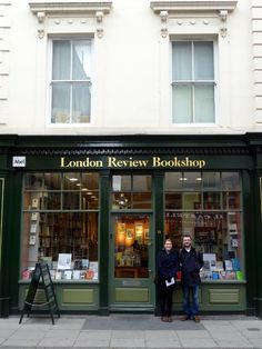 London Review Bookshop - and don't forget the cake shop!