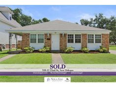 SOLD! $315,000 - 310-12 22nd St, New Orleans, LA, 70124 - 6bed/4bath MultiFamily Home, Greater New Orleans Real Estate - http://www.thenolagal.com