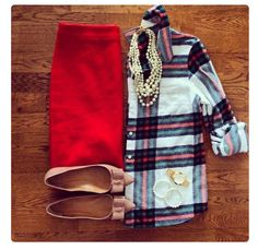 Salt rock plaid