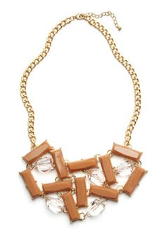 Sweet Sentiment Necklace, #ModCloth