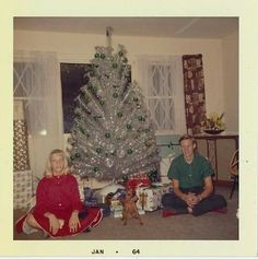 1964... oh, what fun! My grandma had the same tree, only smaller.