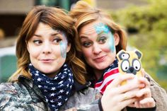 Mace (Grace Helbig and Mamrie Hart)