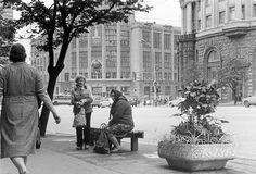 Moskova olympiavuonna 1980.
