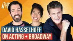 David Hasselhoff on Acting Career & Passion for Broadway and Music   At ... Drew Scott, Acting Career, Broadway, Comedy, David, Passion, Music, Youtube, Fictional Characters