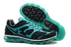 Nike Air Max 2012 Zapatillas para Hombre Negras/Nuevos Verdes-Blancas-Negras http://www.esnikerun.com/