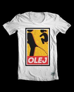 Oley t-shirt specially for boys! Check all SS'14 collection - www.kartelclth.pl #obey #tee #tshirt #manfashion #olej #menfashion #shirt  #ss2014 #olej #oley #pee #pissing #fucklife #YOLO
