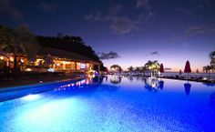 Even at night, Buccament Bay Resort is captivating... www.buccamentbay.com #travel
