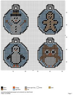 17 Best images about perler beads Plastic Canvas Coasters, Plastic Canvas Ornaments, Plastic Canvas Crafts, Plastic Canvas Patterns, Plastic Craft, Plastic Mesh, Owl Ornament, Dog Ornaments, Ornament Crafts