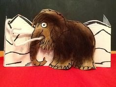 Read, Rhyme and Sing--Family Fun: Wild & Woolly  Wisconsin. Woolly mammoth craft.