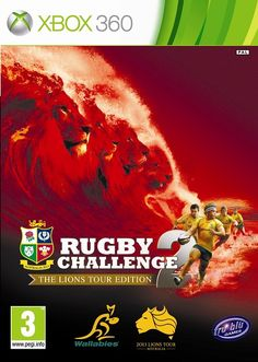 Rugby Challenge 2: The Lions Tour Edition Box Art Revealed
