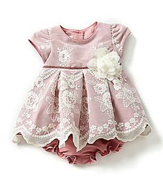 Shop our collection of Baby Girl Dresses from your favorite brands including Edgehill Collection, Starting Out, Laura Ashley London, and more available at Dillard's. Baby Girl Dresses, Baby Dress, Girl Outfits, Little Girl Closet, Casual Formal Dresses, Baby Dedication, Lace Overlay Dress, Cute Baby Clothes, Baby Kids