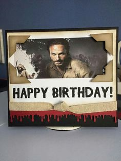 The walking dead greeting cards birthday the walking dead birthday an order for a birthday card with the the walking dead theme m4hsunfo