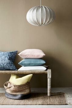 Lidt om min torsdag og et godt tip. Sister In Law, Kallax, Ottoman, Chair, Interior, Inspiration, Furniture, Home Decor, Colors
