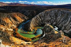 Krupa river on its way through the karst of Southeastern Velebit Croatia Destinations, Places Around The World, Around The Worlds, Passport Stamps, Travel Plan, Central Europe, Small Things, Aerial View, Homeland