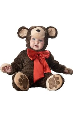 Baby Lil Teddy Bear Costume Deluxe - Party City