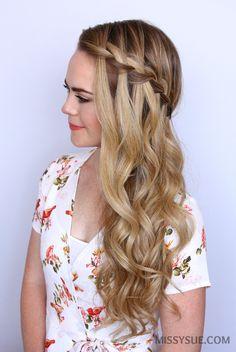 sideswept-waterfall-braid-hair-tutorial