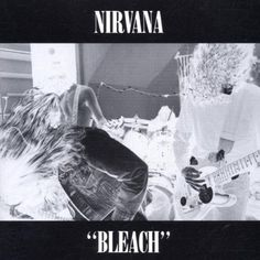Nirvana released 'Bleach' today in #music #history, 1 June #1989. #Nirvana #grunge #rock #eighties #80s #remember #albumcover #Spinogle