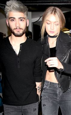 Gigi Hadid Spotted Holding Hands With Zayn Malik for the First Time After Late Night Out Together | E! Online