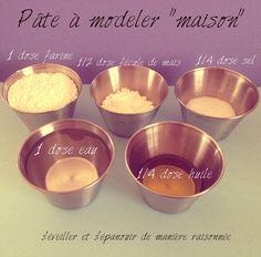 DIY Fabriquons… de la pâte à modeler maison (et comestible !) !!! On trouve bon nombre de recettes sur l'Internet… mais je souhaitais une recette comestible pour éviter tous les dangers (même si je conçois que ce n'est pas la fonction première de cette...