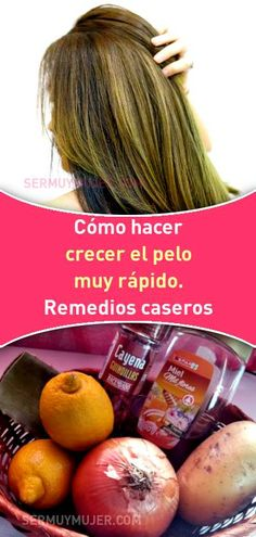 How do you grow your hair fast? Home remedies! For other models, you can visit … How To Grow Your Hair Faster, Facial Masks, Grow Hair, Home Remedies, Blonde Hair, Vegetables, Tips, Beauty, Food