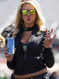 Monster Energy girl Monster Energy Girls, Monster Girl, Triumph Motorcycles, Ducati, Pit Girls, Mopar, Motocross, Promo Girls, Umbrella Girl