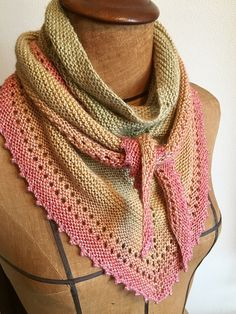 a knit and crochet community Free Knit Shawl Patterns, Beginner Knitting Patterns, Scarf Patterns, Knitting Ideas, Knit Or Crochet, Crochet Shawl, Crochet Dolls, Crochet Crafts, Knitted Shawls