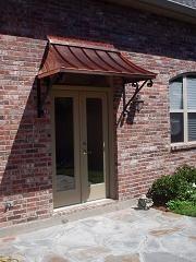 copper awnings for doors | ... COPPER AWNINGS - Copper Awning - Metal Awning for Doors & Windows
