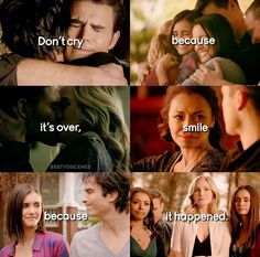 The Vampire Diaries: Damon, Stefan, Vampire Diaries The Originals, Quotes Vampire Diaries, Serie Vampire Diaries, Vampire Diaries Poster, Vampire Diaries Seasons, Movies Quotes, Tvd Quotes, Delena, Caroline Y Stefan