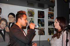 Sonny Sinay tijdens Kristel & Friends  Motown Cafe, Venlo