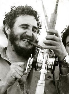 Fidel Castro, fishing