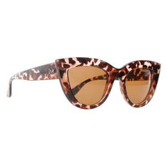 Quay Eyewear Kitti Sunglasses (91 PLN) ❤ liked on Polyvore featuring accessories, eyewear, sunglasses, tortoise sunglasses, tortoise shell sunglasses, tortoiseshell sunglasses, tortoiseshell glasses and quay eyewear