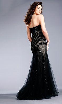 stunning black sparkle wedding dress / ball gown