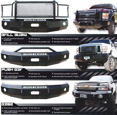Iron Cross bumpers