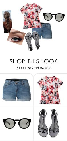 """""""Cute"""" by sydclaire ❤ liked on Polyvore featuring LE3NO and Givenchy"""
