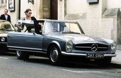 Kate Moss and her Mercedes Pagoda Top
