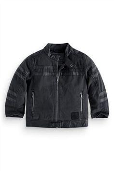 Buy Canvas Biker Jacket (3mths-6yrs) online today at Next: Australia