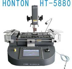 Freeshipping! HONTON HT-5880 IR Heating PLC Control BGA Rework Station BGA Machine Soldering Machine Welding Machine 220V