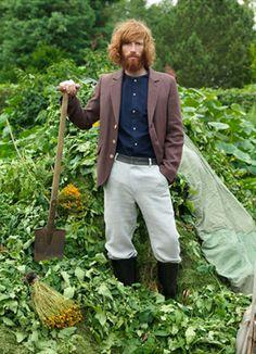 """""""The Botanist"""" - Johnny Harrington for Frank Leder,  S/S 2011"""