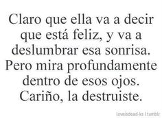 Fashion, wallpapers, quotes, celebrities and so much Sad Love Quotes, True Quotes, Ex Amor, Quotes En Espanol, Inspirational Phrases, Love Phrases, Spanish Quotes, Love Messages, Sentences