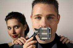 Goateesaver: Men's Shaving Template for A Perfect Goatee