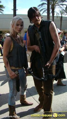 Beth & #Daryl - The Walking Dead #cosplay. That's fricken amazing!  #twd
